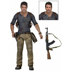 "Uncharted 4 Ultimate Nathan Drake 7"" Scale Action Figure"