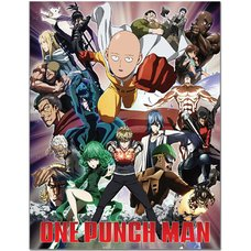 One-Punch Man Group Sublimation Throw Blanket