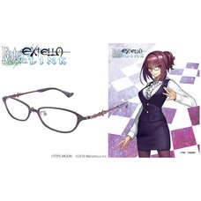 Fate/Extella Link Scathach Model Collaboration Glasses (Clear Lenses)