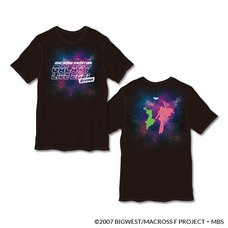 "Macross Frontier Galaxy Live 2021 ""REVENGE"" Graphic T-Shirt"