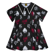 LISTEN FLAVOR Playing Cards Sailor Dress