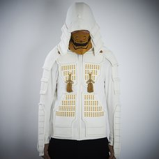 Samurai Armor Hoodie Set <White>