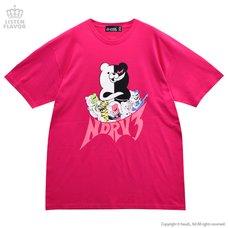 LISTEN FLAVOR Danganronpa V3: Killing Harmony Monokuma & Monokumas NDRV3 Big T-Shirt