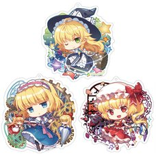 Touhou Project Creator's Keychain Charm Collection: Capura.L Ver.