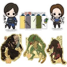 Capcom x B-Side Label Resident Evil Sticker Collection Vol. 2