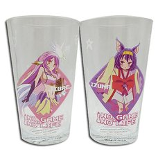 No Game No Life Drinking Glass Set 3