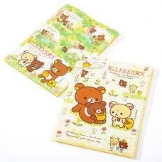 Rilakkuma Korilakkuma to Atarashii Otomodachi Clear File w/ 6+1 Pockets