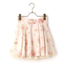 LIZ LISA Bouquet Pattern Sukapan Skirt