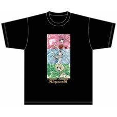 Magic Knight Rayearth Black T-Shirt