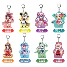 Touhou Lost Word Trading Acrylic Keychain Collection Vol. 1 Box Set