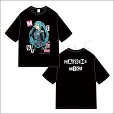 Hatsune Miku Creators Party Big Silhouette T-Shirt: YOICHIRO Ver.