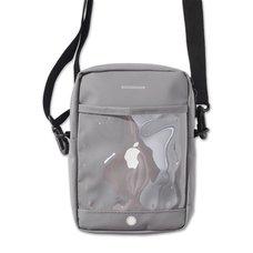 "PDS ""Aitsu""pple Gray Mini Shoulder Bag"
