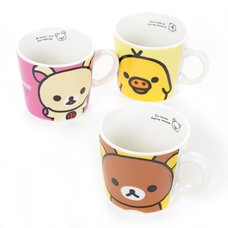 Rilakkuma Mug Collection