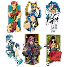 Capcom x B-Side Label Capcom Girls Sticker Collection Vol. 2