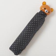 Rilakkuma Black Collapsible Umbrella