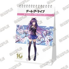 Date A Live 10th Anniversary Dates Every Day Daily Calendar