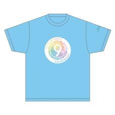 Love Live! Series 9th Anniversary Memorial T-Shirt: Aqours Ver.
