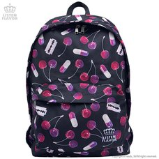 LISTEN FLAVOR Cherry Backpack