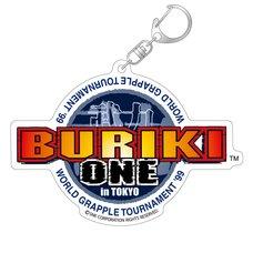 Buriki One: World Grapple Tournament '99 in Tokyo Title Logo Acrylic Keychain