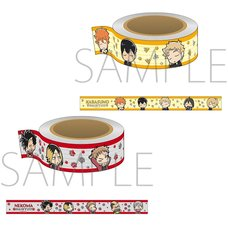 Haikyu!! Yuru Palette After the Game Chibi Masking Tape