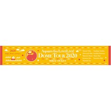 Aqours 6th LOVELIVE! Dome Tour 2020 Muffler Towel ~MIRAI TICKET~