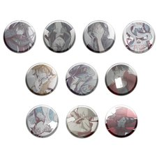 Kagerou Project Sidu Artworks Kagerou Days Ver. Trading Badge Collection