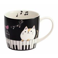 Nyanta Piano Mug