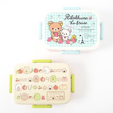 Rilakkuma & Sumikko Gurashi 4-Point Lock Tight Lunch Boxes