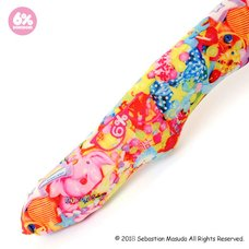 6%DOKIDOKI Colorful Rebellion Original Patterned Tights