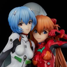 Neon Genesis Evangelion Rei Ayanami & Asuka Langley Soryu: Twinmore Object Non-Scale Figure
