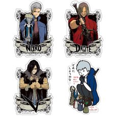 Capcom x B-Side Label Devil May Cry 5 Sticker Collection