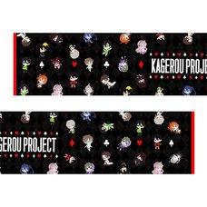 Kagerou Project Playing Card Muffler Towel
