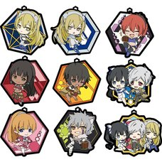Sword Oratoria Rubber Strap Collection Box Set w/ Lucky Item