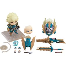 Nendoroid Monster Hunter World: Iceborne Hunter: Male Zinogre Alpha Armor Ver. DX