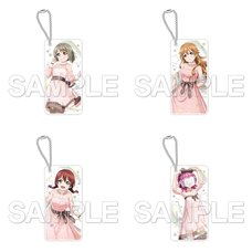 CharaClear Love Live! Nijigasaki High School Idol Club QU4RTZ Acrylic Keychain Collection