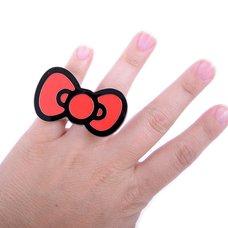 Hello Kitty Bow 2-Finger Ring