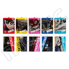 Persona 5 the Animation Acrylic Keychain Box Set