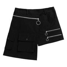 LISTEN FLAVOR Layered 2-Way Shorts