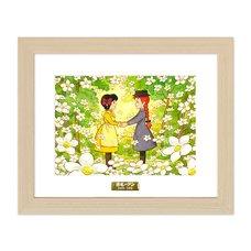 """""""Anne & Diana"""" Chara Fine Graph Print"""