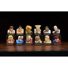 Street Fighter II Losing Face Figure Collection