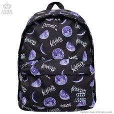 LISTEN FLAVOR Metal Moon Backpack