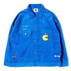 [PDS x Pac-Man] Master Blue Corduroy Jacket