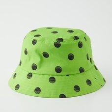 Junji Ito R4G Uzumaki Dots Green Bucket Hat