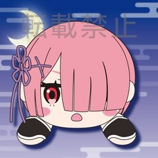 Mega Jumbo Lying Down Plush Re:Zero -Starting Life in Another World- Ram: Ninja Ver.