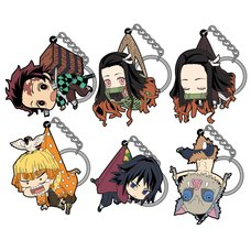 Demon Slayer: Kimetsu no Yaiba Tsumamare Keychain Collection