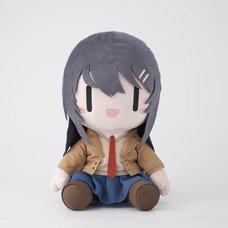 Rascal Does Not Dream of Bunny Girl Senpai Mai Sakurajima: Deformed Ver. Big Plush
