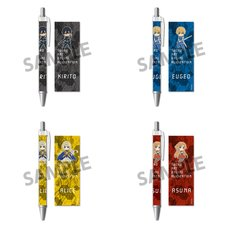 Pikuriru! Sword Art Online: Alicization Ballpoint Pen Collection