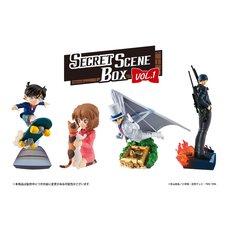 Petitrama Series Case Closed Secret Scene Box Vol. 1 Box Set
