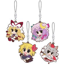Touhou Project Rubber Strap Collection Vol. 2