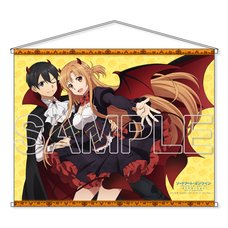 Sword Art Online: Alicization Kirito & Asuna Halloween B2-Size Tapestry